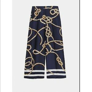 SOLD OUT Zara Rope Print Pants